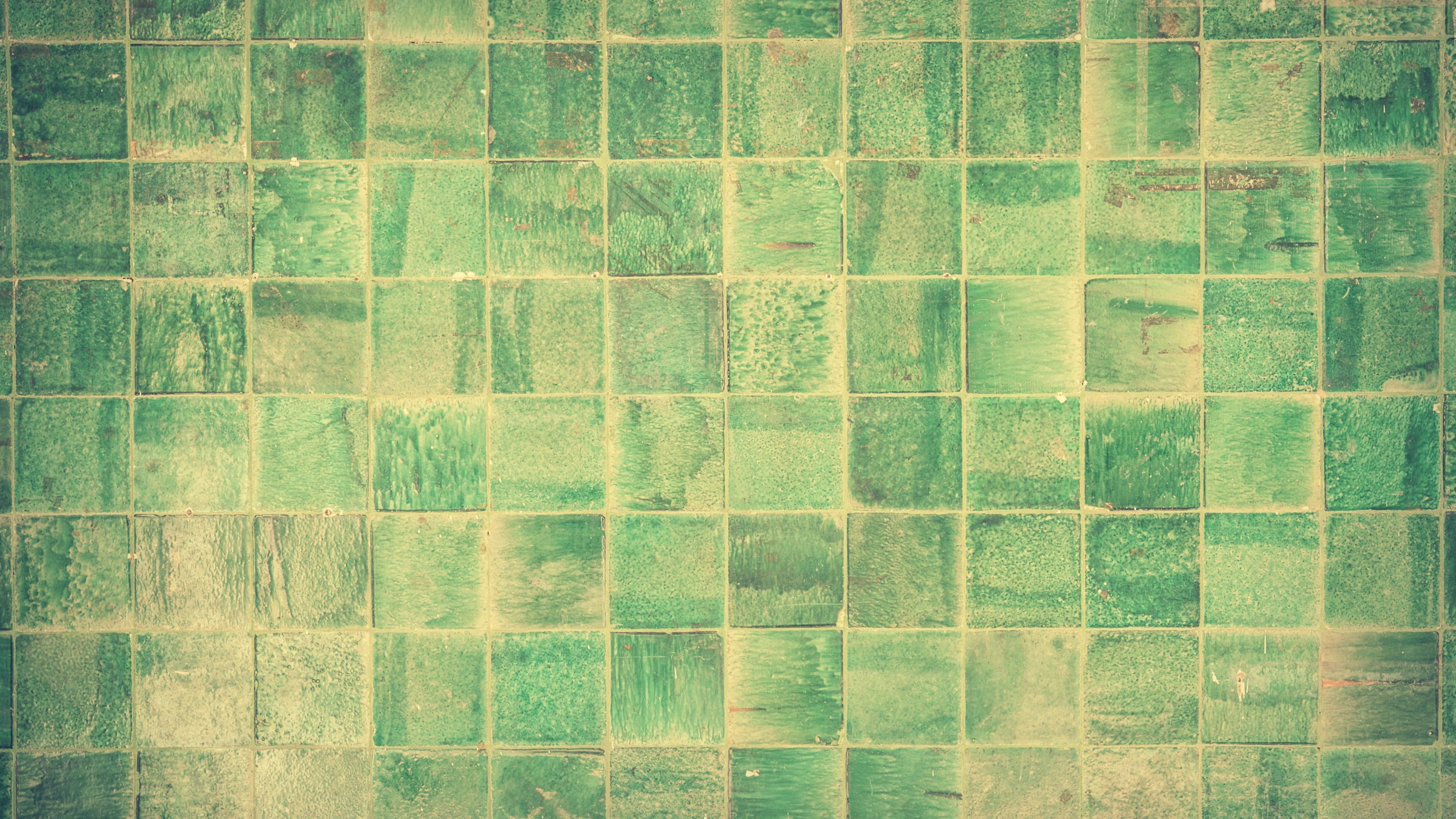 Green Tile Wallpaper Iphone Android Desktop Backgrounds