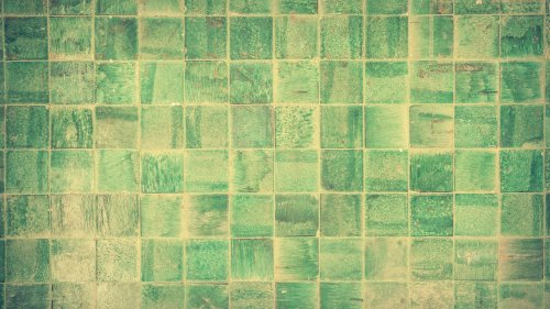 Green Tile HD Desktop Wallpaper