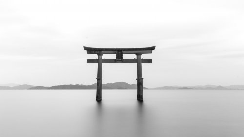 Zen Gate Tori Shrine HD Wallpaper