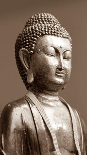 Buddha Statue Mobile Wallpaper