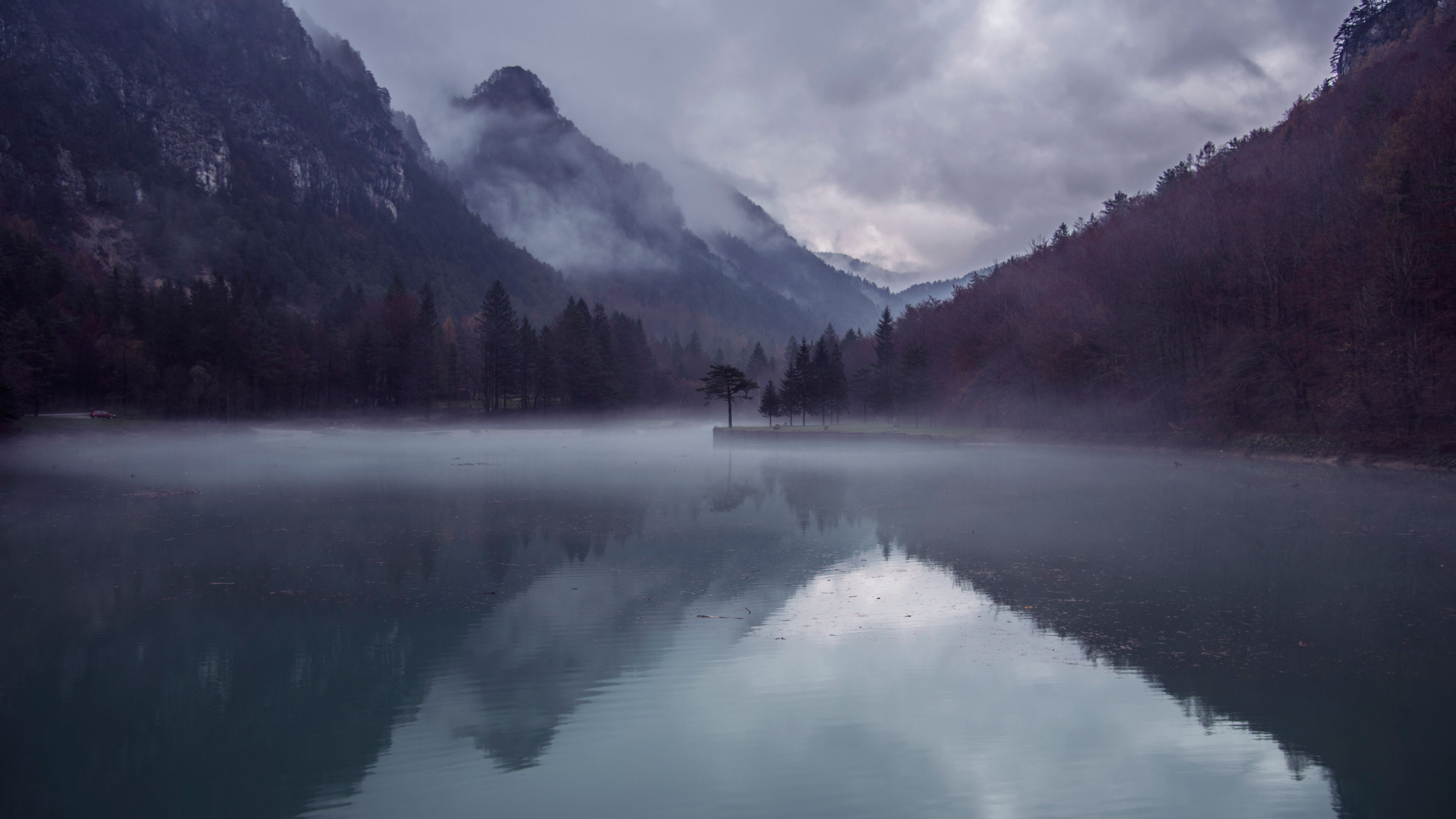 Mountain lake wallpaper mobile desktop background for Wallpaper photo
