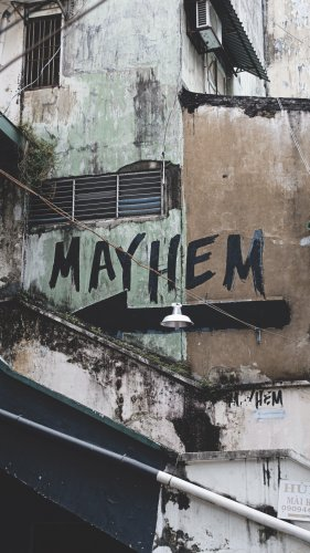 Mayhem Graffiti