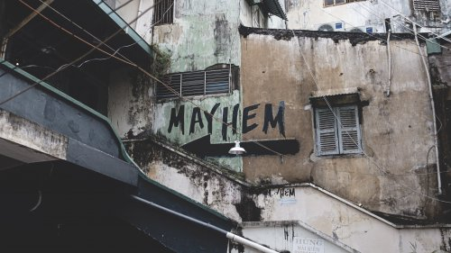 Mayhem Graffiti Wallpaper