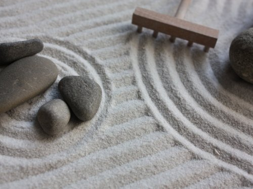Zen Sand Garden  Wallpaper