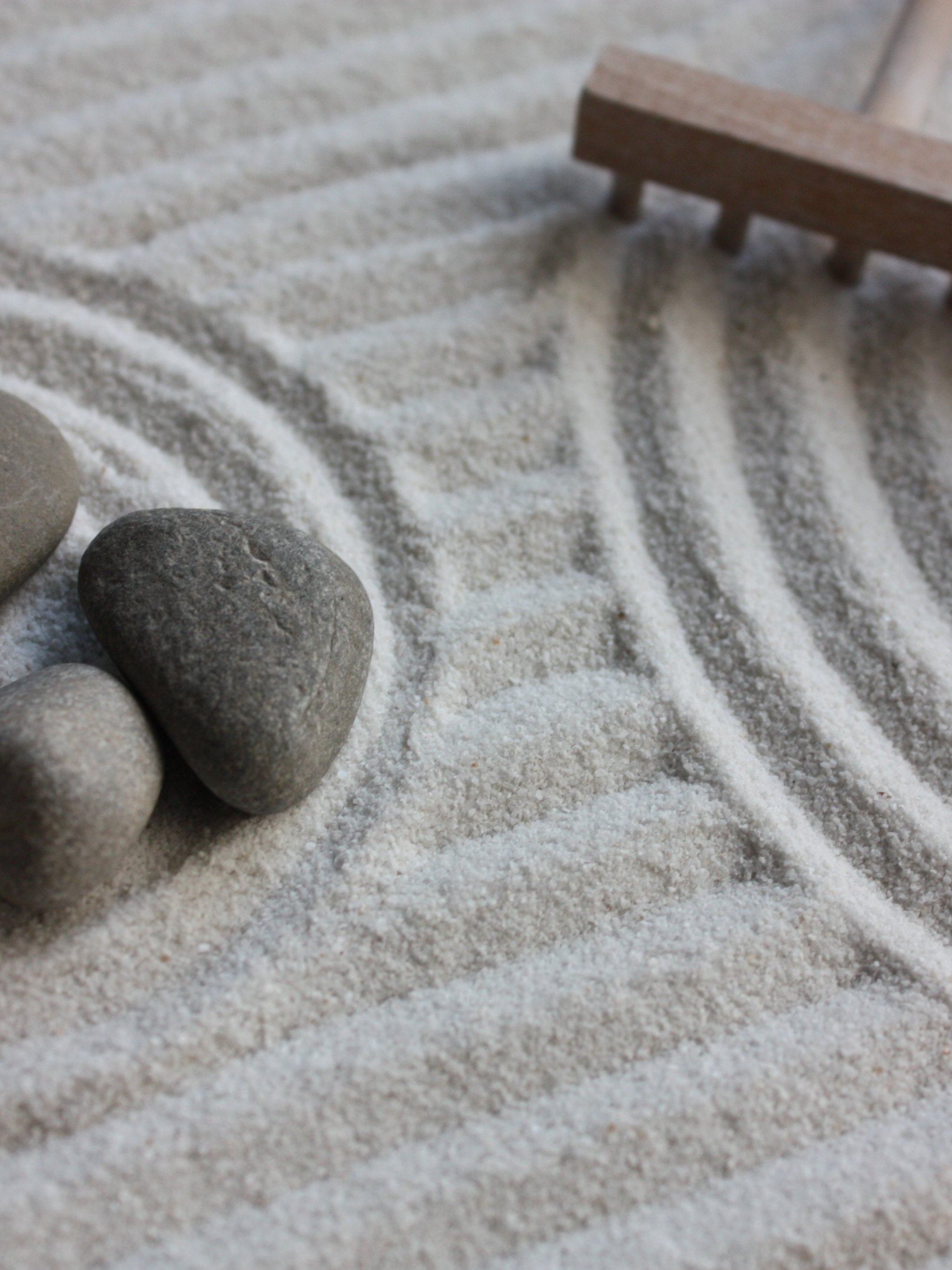 Zen Sand Garden Wallpaper - Mobile & Desktop Background
