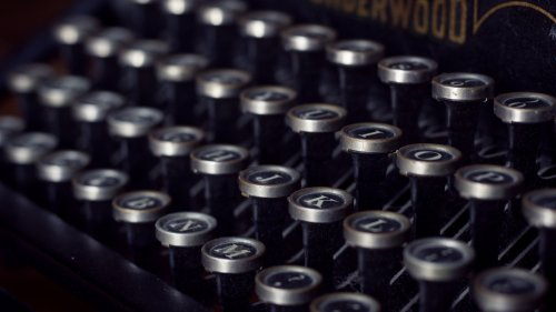 Underwood Typewriter Wallpaper