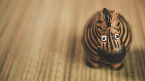 Toy Zebra HD Wallpaper