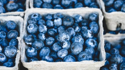 Fresh Blueberries Wallpaper
