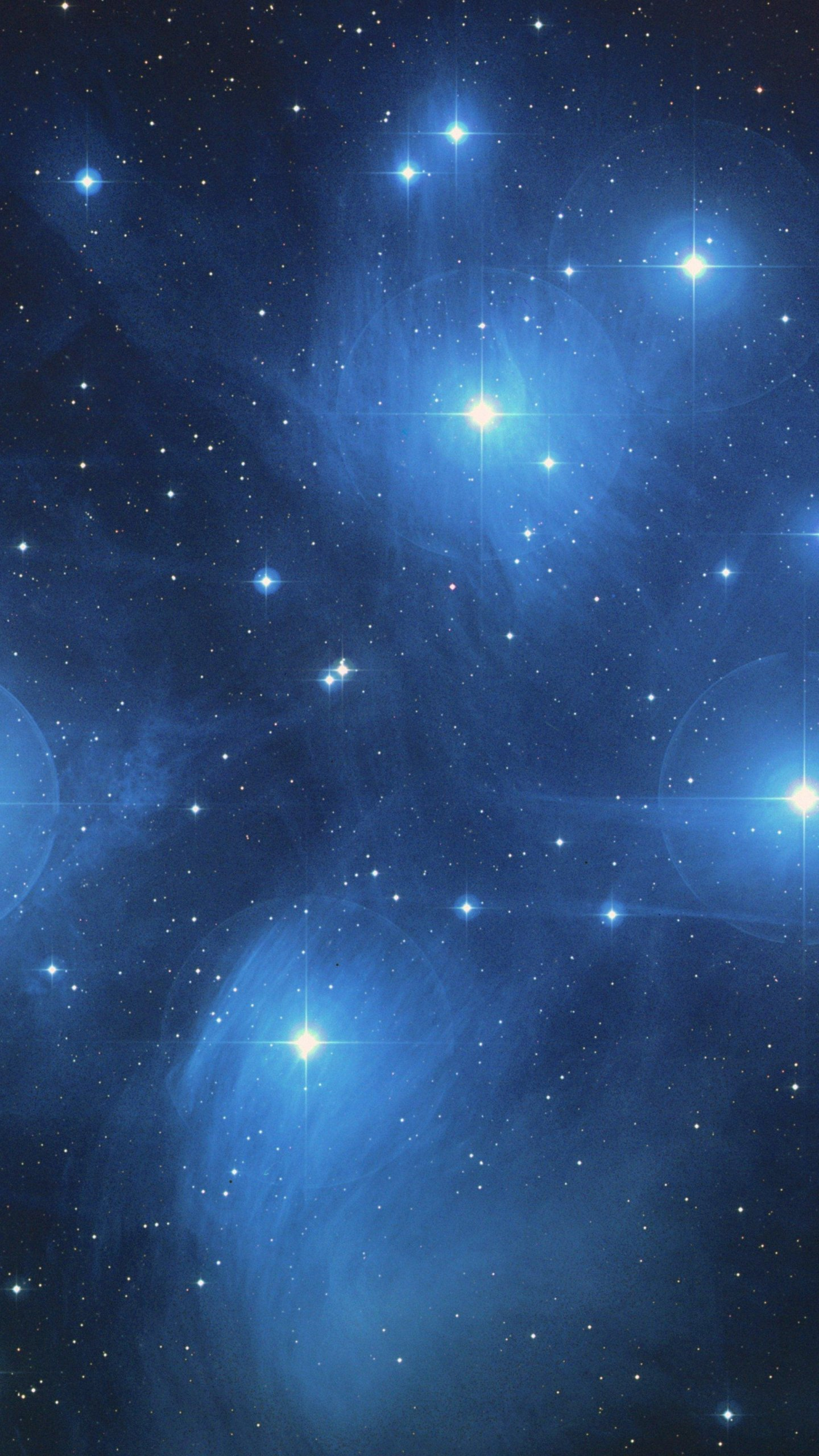 The Pleiades Star Cluster Wallpaper Iphone Android