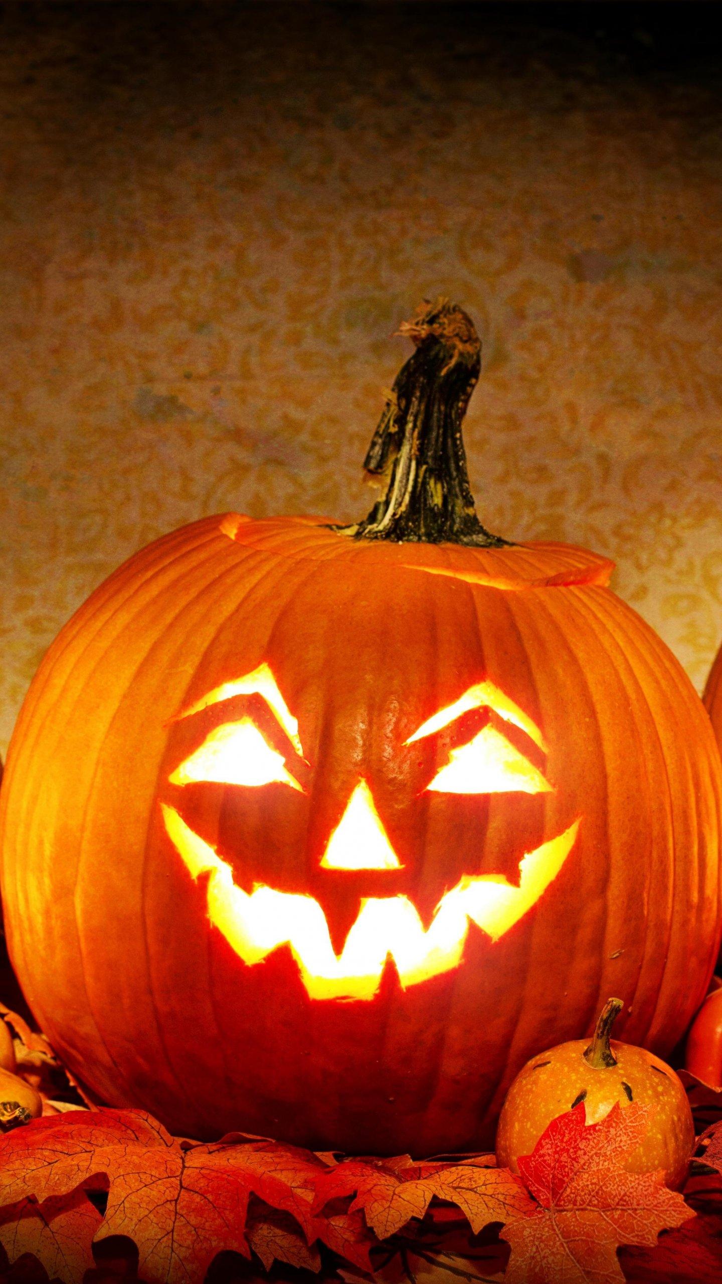 Halloween Pumpkin Wallpaper Iphone.Jack O Lantern Halloween Pumpkin Wallpaper Iphone Android