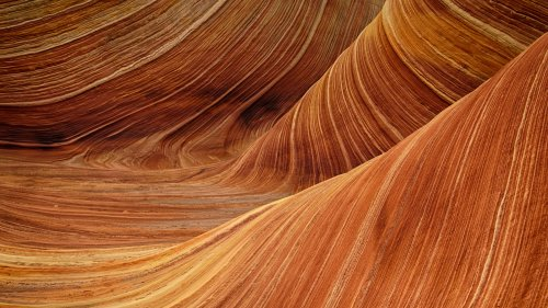 Sandstone Canyon HD Wallpaper
