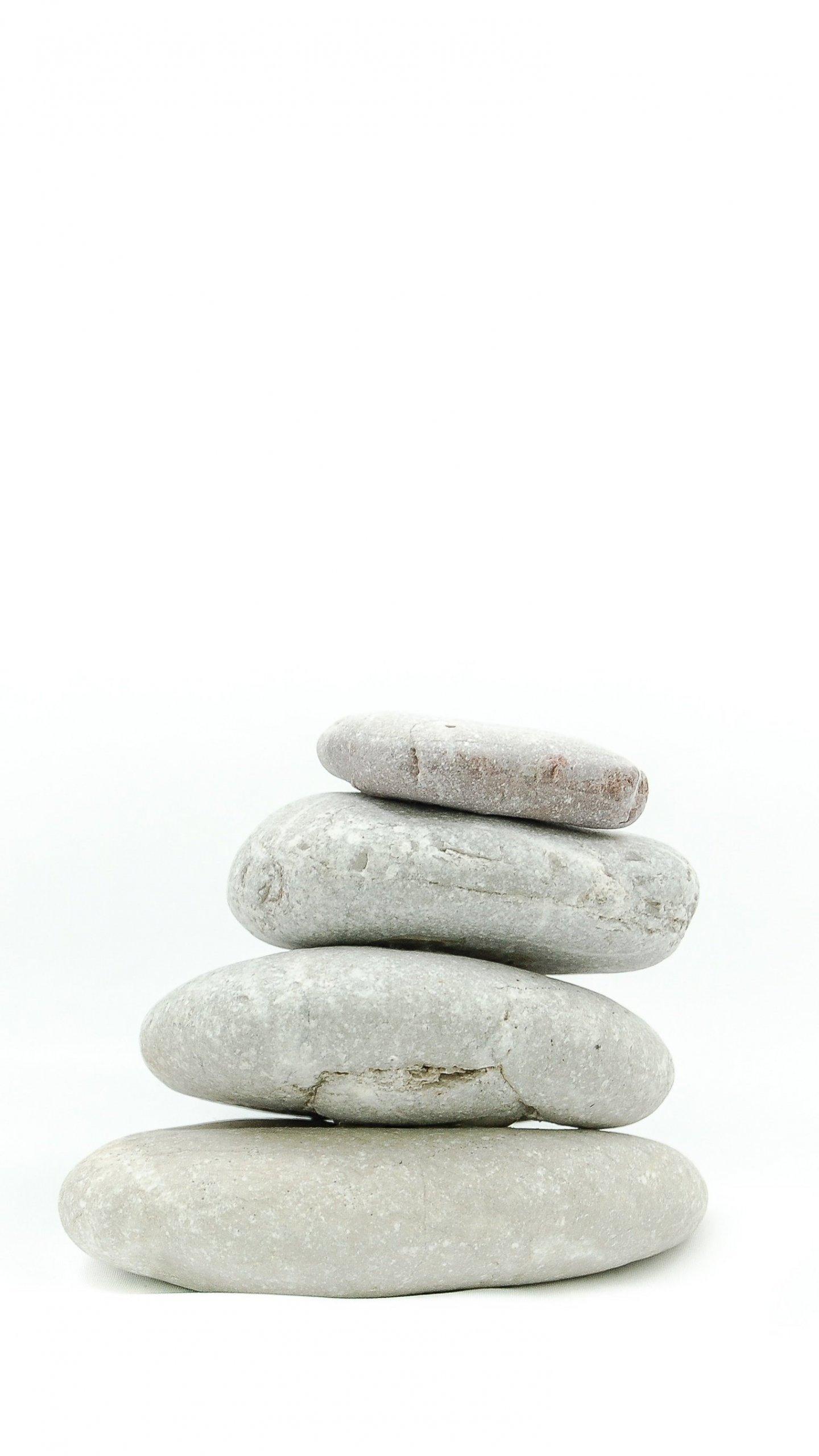 Zen Stone Stack Wallpaper Iphone Android Desktop