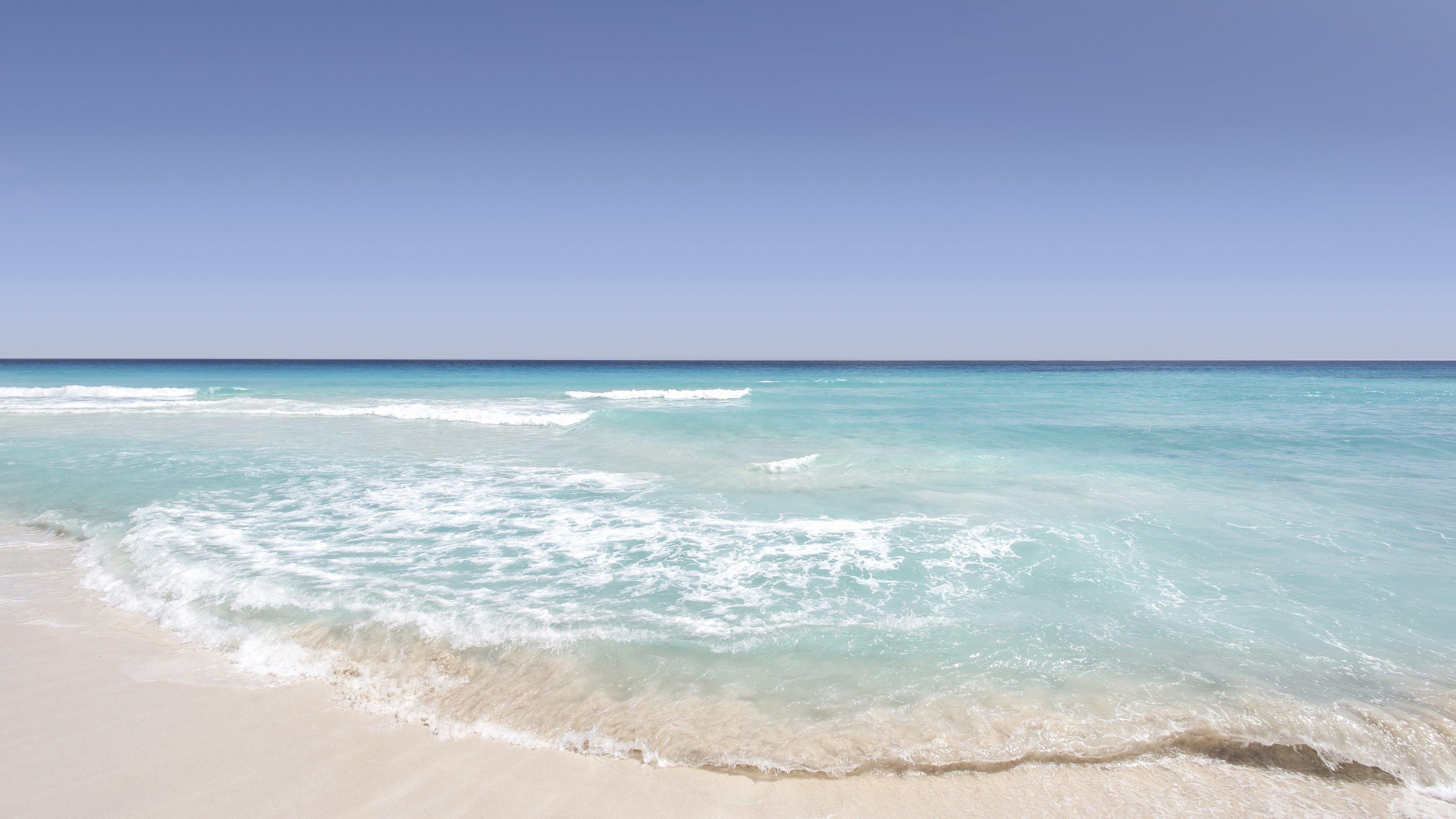 Sandy Beach Wallpaper: Mobile & Desktop Background