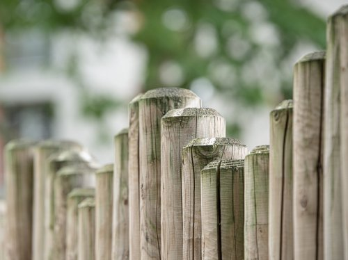 Wood Fence  Wallpaper