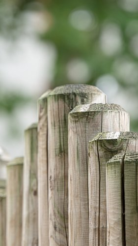 Wood Fence Mobile Wallpaper