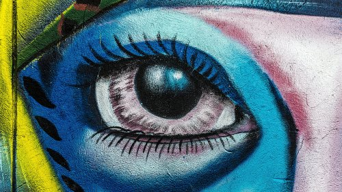 Eye Graffiti Wallpaper