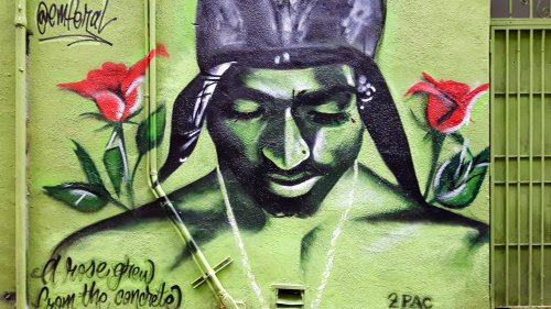 Tupac Mural  HD Wallpaper