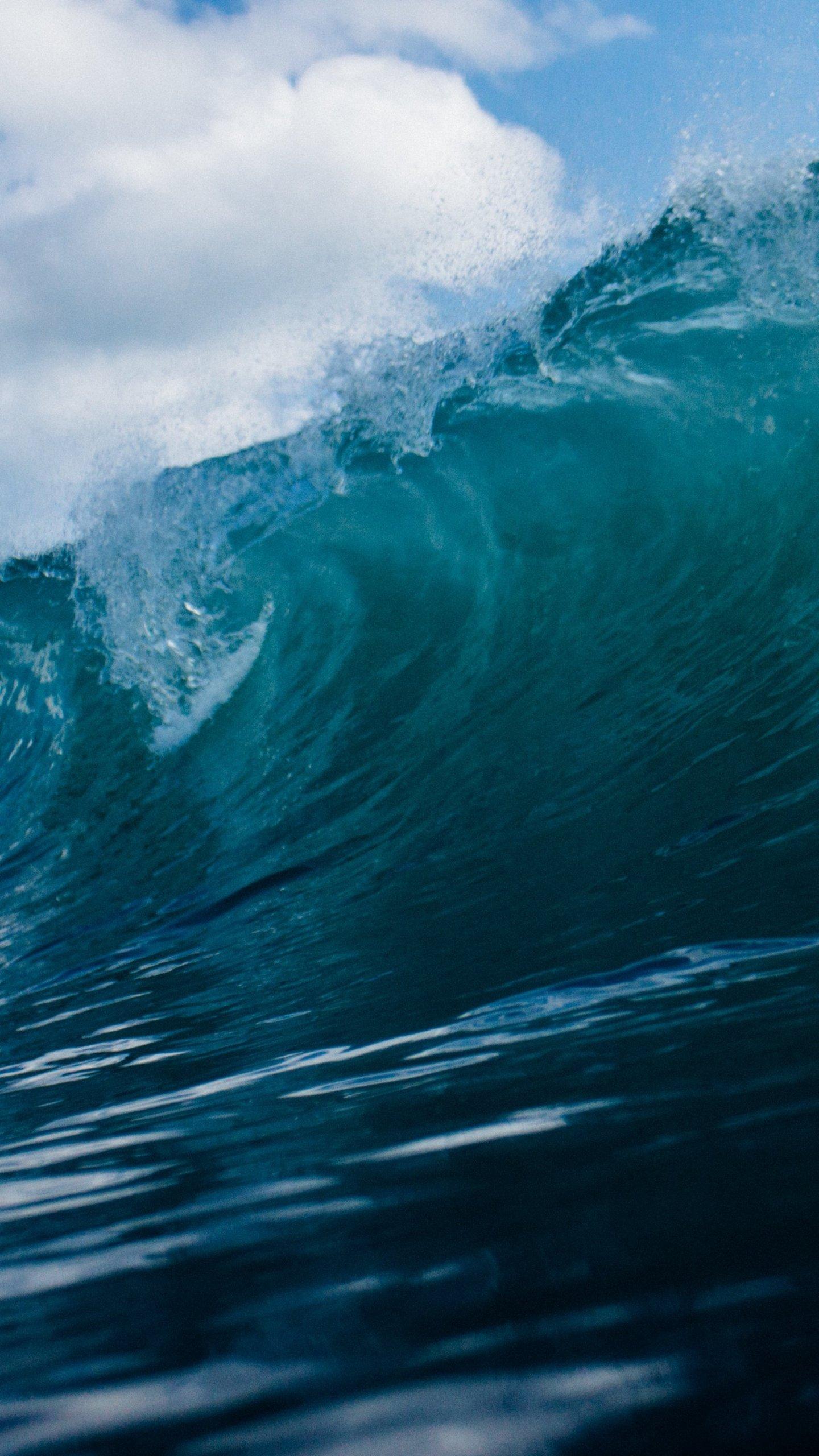 ocean wave wallpaper - mobile & desktop background