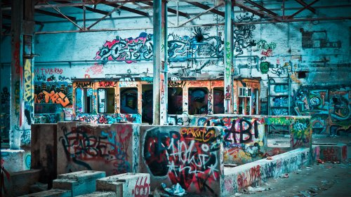 Graffiti Tags HD Wallpaper