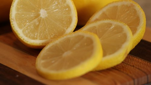 Fresh Lemons HD Desktop Wallpaper