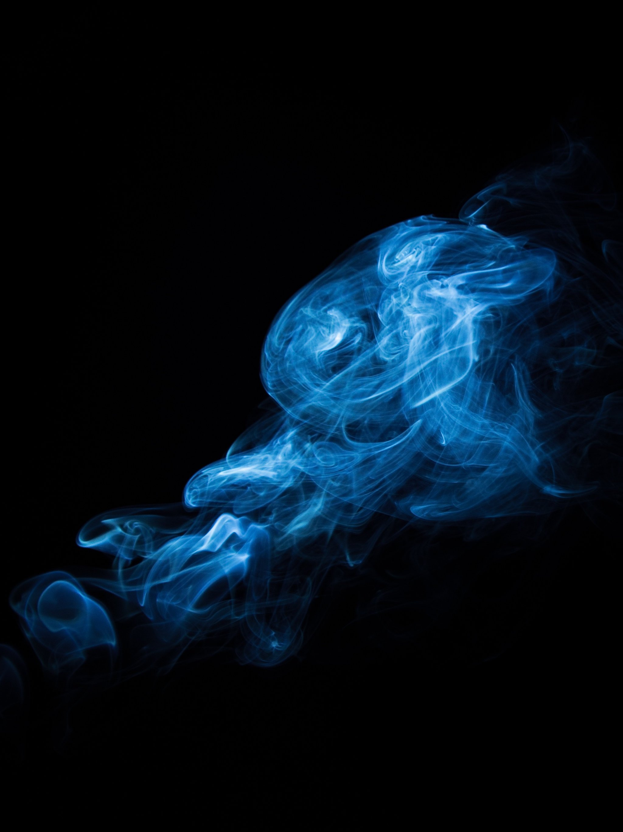 Remarkable Blue Smoke Wallpaper Iphone Android Desktop Backgrounds Interior Design Ideas Inamawefileorg